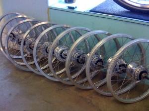 Lots of wheels